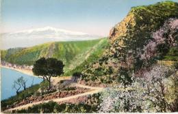 O-TAORMIN-VEDUTA DELL'ETNA - Messina