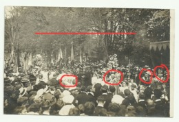 ORROUY  Carte Photo 2 MAI1909  BOUQUET PROVINCIAL Présence Mgr DOUAIS EVEQUE DE BEAUVAIS - Otros Municipios
