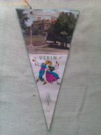Banderín De Verín. Orense. Galicia. España - Escudos En Tela