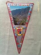 Banderín De Principado De Andorra - Escudos En Tela