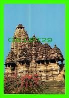 KHAJURAHO, INDIA - KANDARIYA MAHADEVA  TEMPLE BUILT IN 1025-50 DURING THE REIGNS OF VIDYADHAR -  INDICA CARDS - - Inde