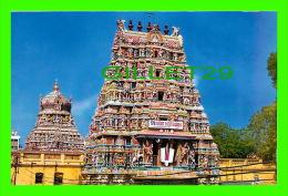 MADURAI CITY, INDIA - RAJA GOPURAM & ASHTANGA VIMANAM - PHOTO CREDITS: BRAHAN - VIVEK CARDS - - Inde