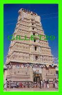 MYSORE, INDIA - CHAMUNDESWARI TEMPLE, C. HILL - TOURIST GUIDE - - Inde