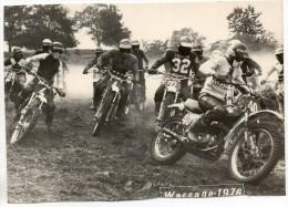 27015  -  Warsage Moto-cross  1976  -  Photo  16,5  X 11,5 - Dalhem