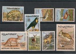 MAROC Années 1970-72-73-84   N° Y/T : 606/607-646/647-689/690-962/963**  Côte :15,50 € - Maroc (1956-...)