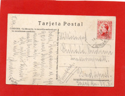 Matasello Ferrocarril Sevilla - Alcazar (de San Juan?) , 1930 , Cordoba , Bahnpost,train Railway,chemin De Fer - Cartas