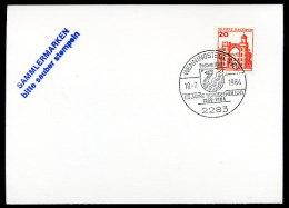 87997) BRD - Handwerbestempel-Beleg - 2283 WENNINGSTEDT, SYLT Vom 18.7.1984 - 125 Jahre Nordseeheilbad - BRD