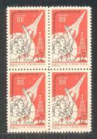 Block 4 Of North Vietnam Viet Nam MNH Perf Stamps 1961 :22nd Congress Of Communist Party Of Soviet Union / Space (Ms093) - Vietnam