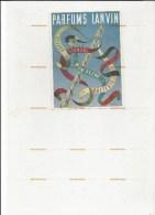 8341/ 1 Publicité Beauté, Parfum LANVIN - Advertising