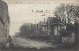 76 - PETIT-COURONNE - Seine Maritime - Les Cinq Chalets - Entrée De La Route De Caen - Other Municipalities
