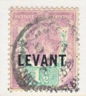 BRITISH   LEVANT   17   (o) - British Levant