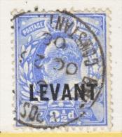 BRITISH   LEVANT   19   (o) - British Levant