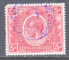 KENYA  And  UGANDA  34    (o) - Kenya, Uganda & Tanganyika