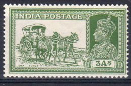 23.8.1937, India Postage, - Courrier Sur Chameau  YT  149, Neuf *, Lot 40487 - 1936-47  George VI