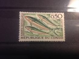 Congo Brazzaville - Postfris / MNH Tropische Zeedieren (0.50) 1961 - Ungebraucht