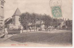 CPA 10 Aube - JESSAINS - Place De L' Eglise - France