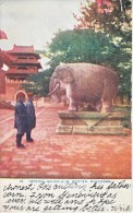 MANCHURIA  POST  CARD  Used  In  U.S. - Manchuria 1927-33