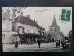 CP Carte Postale Environs De Chatellerault Saint Romain Très Animée (3) - Autres Communes