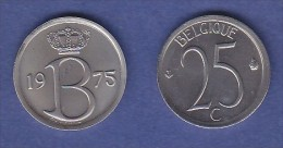 *BAUDOUIN* 2 X25 CENTIMES*1975 (française) + 1975 (flamande)  Type Monogramme B  ***ISSUE DU SET FDC*** - 1951-1993: Baudouin I