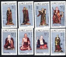 North Vietnam Viet Nam MNH Perf Stamps 1971 : Statues Of Tay Phuong Pagoda (Ms256) - Viêt-Nam