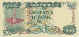 Indonesia 500 Rupian 1982 Pick 121 UNC - Indonésie