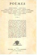 La Petite Illustration N° 344 / Poèmes  N° 1 : T. Derème, F. Jammes, L. Larguier, H. De Régnier, P. Valéry - Poésie