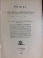 La Petite Illustration N° 838 /  Poèmes N° 9 : Comert-Formont-Honnert-Malard-Chastel-Saint-Pol Roux - Poésie