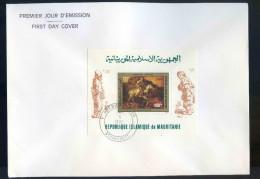 PJM16Bloc 28 - Tableau De Rembrandt   5 Sept 1980 - Mauritanië (1960-...)