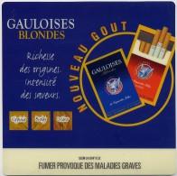 Tapis De Souris - Publicité Cigarettes Gauloise Blonde Nouveau Gout - Autres