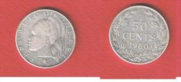 LIBERIA  //   50 Cents 1960  //  KM # 17 - Liberia