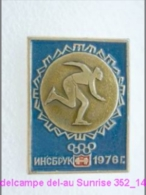 Olimpic Games - Innsbruck . Skating Race - Sprint Badge Old 352_o4702 - Olympic Games