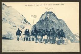 Rare Chasseurs Alpins Au Glacier De Lépéna (Béroud) Savoie (73) - Autres Communes