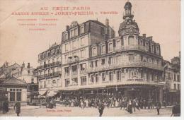 CPA 10 Aube - TROYES - Au Petit Paris - Jorry Prieur- Grande Annexe - Troyes