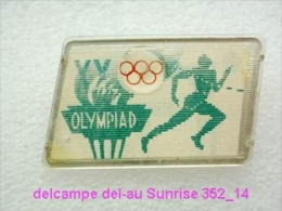 Olimpic Games - Munich Running Race - Marathon Badge Old 352_o4711 - Jeux Olympiques