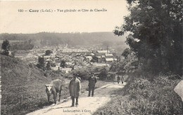 76 CLASVILLE CANY BARVILLE 1912 ROUTE VACHER   ED LECLERC 100  TBE - Cany Barville