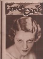 MON CINE 7 01 1932 - ANNABELLA - LA FORTUNE AVEC CLAUDE DAUPHIN ET JANE MARNY - JEAN WEBER - WESTERNS - GRETA NISSEN - Cinéma/Télévision