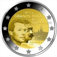 2 EUR 2012 - LUXEMBOURG UNC - Groothertogen Henri & Guillaume IV - Luxembourg