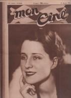MON CINE 21 01 1932 - NORMA SHEARER - DOCUMENTAIRES - X-27 AVEC MARLENE DIETRICH ET VICTOR MAC LAGLEN - SEX-APPEAL - - Cinéma/Télévision