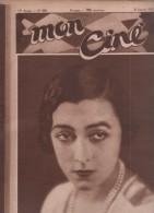 MON CINE 28 01 1932 - GABY MORLAY - DOUAUMONT DE HEINZ PAUL / VERDUN VU PAR ALLEMANDS - FILM PARLANT - WINNIE LIGHTNER - Cinema/Televisione