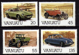 VANUATU   N °  755/58    * *  ( Cote 10.50e )    Auto   -   Voiture Ancienne - Tacot - Camion - Voitures