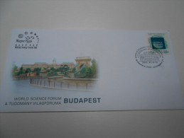 Hungary 2007. World Science Forum Stamp On FDC - FDC