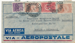 SAO PAULO - 1933 , Brief Nach Berlin-Grunewald - Posta Aerea