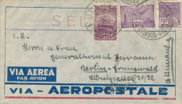 RIO De JANEIRO - 1932 , Brief An Den Generalkonsul Nach Berlin-Grunewald - Poste Aérienne