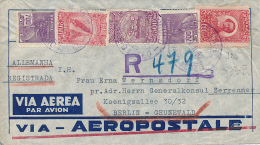 RIO De JANEIRO - 1932 , R-Brief An Den Generalkonsul Nach Berlin-Grunewald - Poste Aérienne