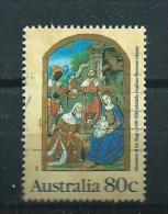 1989 Australia 80 Cent Christmas,kerst,noël,weihnachten Used/gebruikt/oblitere - 1980-89 Elizabeth II