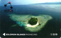 SOLOMON ISLANDS $10 KENNEDY ISLAND 1ST ISSUE 1992 GPT CODE: SOL-01 READ DESCRIPTION !!