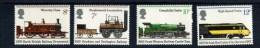 248639067 GROOT BRITTANNIE POSTFRIS MINT NEVER HINGED POSTFRISCH EINWANDFREIS YVERT 760 763 TREIN TRAINS - Unused Stamps