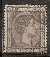 ESPAÑA 1875 - Edifil #169 - VFU - Usados
