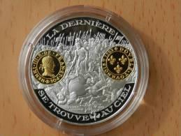 2000 Ans D´histoire Monetaire Francaise -  Double Tournois Henti III - Argent Et Vermeil 20 Grs - France