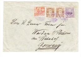 Brief 1930 Japan Yokohama Nach Werdau Deutschland - Mit Inhalt - - 1926-89 Kaiser Hirohito (Showa Era)